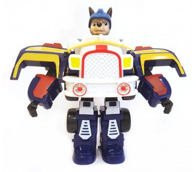 Робот трансформер Чейз Щенячий патруль