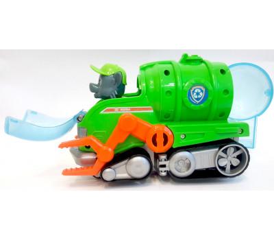 Игрушка Щенячий патруль -  Рокки с машинкой
