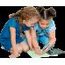 Рисуй светом - детский набор для рисования в темноте А3 с двумя ручками