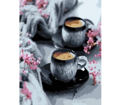 Натюрморт с кофе - картина по номерам