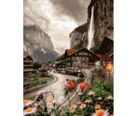 Деревенька в Швейцарии
