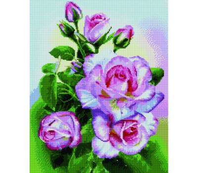 Кустовая роза 40*50