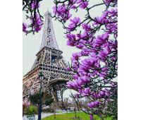 Весенняя красота Парижа 40х50 - АЛМАЗНАЯ МОЗАИКА