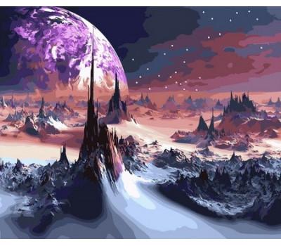 Фантастический пейзаж - картина по номерам