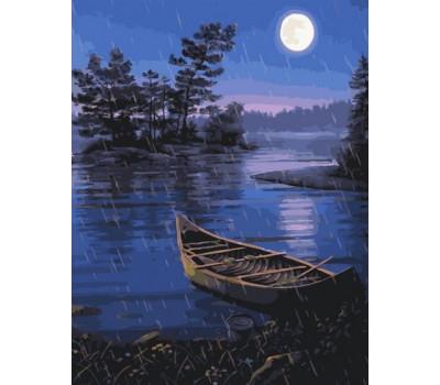 Лунная ночь - картина по номерам